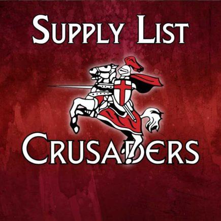 2018 – 2019 Supply List